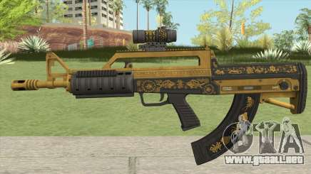 Bullpup Rifle (Scope V2) Main Tint GTA V para GTA San Andreas