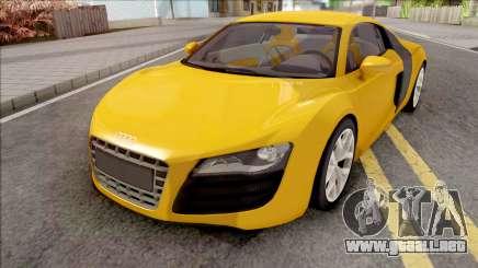 Audi R8 4.2 FSI Quattro VehFuncs para GTA San Andreas