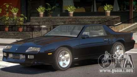 1990 Chevrolet Camaro V1.0 para GTA 4
