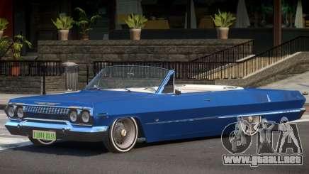 1963 Chevrolet Impala Cabrio para GTA 4