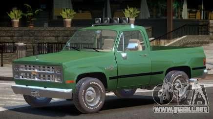 Chevrolet Blazer V1.0 para GTA 4