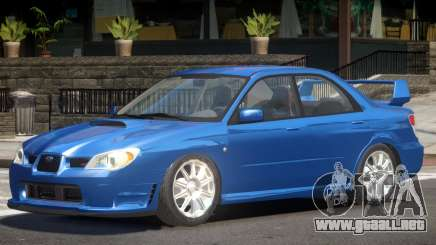 Subaru Impreza Spec C para GTA 4
