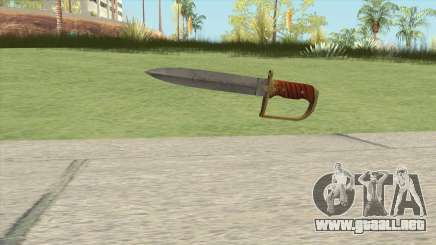 Antique Cavalry Dagger V1 GTA V para GTA San Andreas