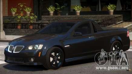Pontiac G8 Tuned para GTA 4