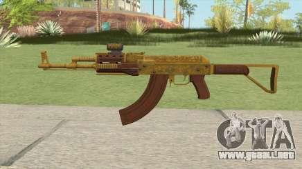 Assault Rifle GTA V Scope (Extended Clip) para GTA San Andreas