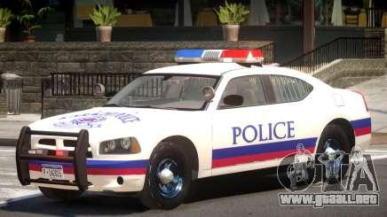 Dodge Charger Y12 Police para GTA 4