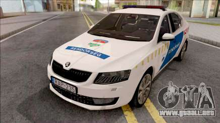 Skoda Octavia A7 Rendorseg para GTA San Andreas