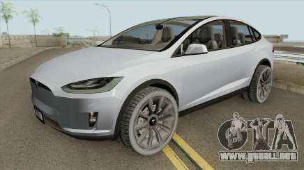 Tesla Model X (Low Poly) 2016 para GTA San Andreas