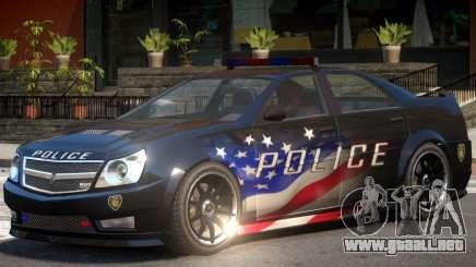Albany Stinger Police para GTA 4