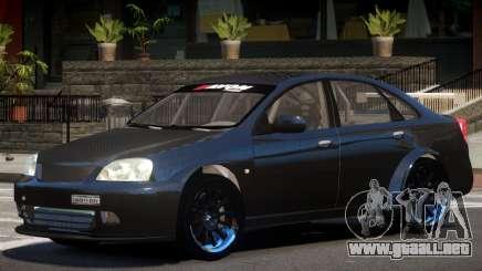 Chevrolet Lacetti V1.1 para GTA 4