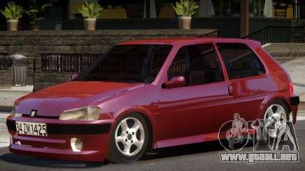 Peugeot 106 V1.0 para GTA 4