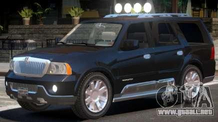 Lincoln Navigator V1 para GTA 4