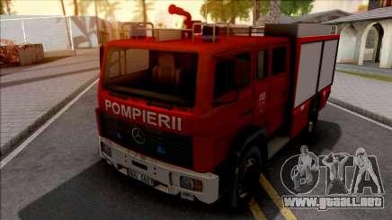 Mercedes-Benz 1222 LF 16-12 Pompierii para GTA San Andreas