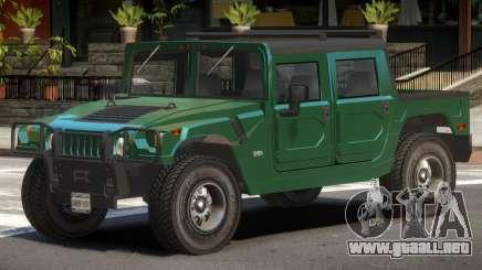 Hummer H1 ST para GTA 4