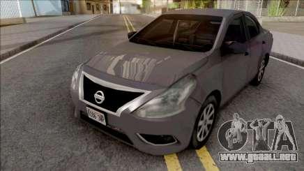 Nissan Almera 2013 SA Style para GTA San Andreas