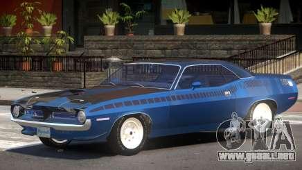 Plymouth Cuda Tuning para GTA 4