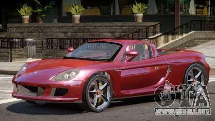 Porsche Carrera GT-S para GTA 4