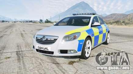 Vauxhall Insignia British Police para GTA 5