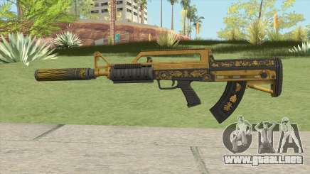 Bullpup Rifle (Suppressor V1) Main Tint GTA V para GTA San Andreas