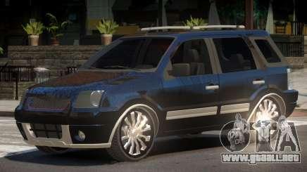 Ford EcoSport V1.0 para GTA 4
