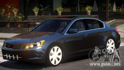 Honda Accord Y9 para GTA 4