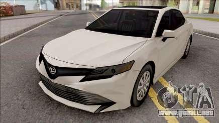 Daihatsu Altis G 2018 SA Style para GTA San Andreas