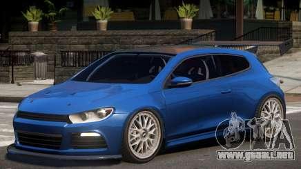 Volkswagen Scirocco Custom para GTA 4