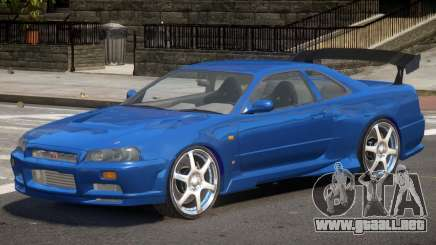 Skyline GT-R34 V1 para GTA 4