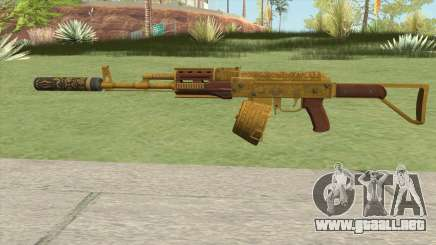 Assault Rifle GTA V Suppressor (Box Clip) para GTA San Andreas