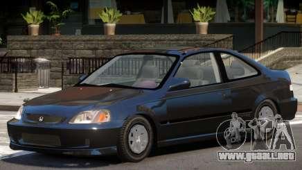 Honda Civic Stock V1 para GTA 4