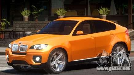BMW X6 Tun para GTA 4