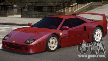 1987 Ferrari F40 para GTA 4