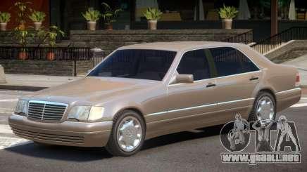 Mercedes W140 V1 para GTA 4