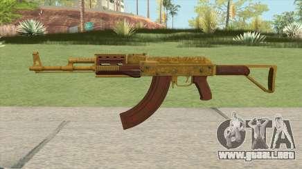 Shrewsbury Assault Rifle GTA V (Extended Clip) para GTA San Andreas