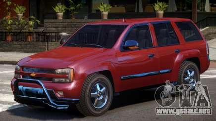 Chevrolet TrailBlazer V1.0 para GTA 4