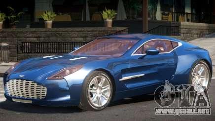 Aston Martin One-77 V1.0 para GTA 4