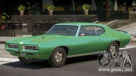 1972 Pontiac GTO V1.2 para GTA 4