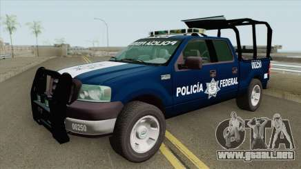 Ford F-150 2008 (Policia Federal) para GTA San Andreas