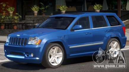 Jeep Grand Cherokee V1.0 para GTA 4