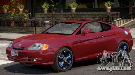 Hyundai Tuscani V1.2 para GTA 4