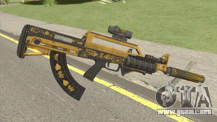 Bullpup Rifle (Complete Upgrade) Main Tint GTA V para GTA San Andreas