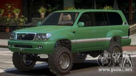 Toyota Land Cruiser 100 V1.1 para GTA 4