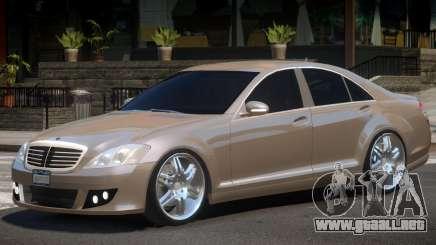 Mercedes Benz W221 Brabus para GTA 4