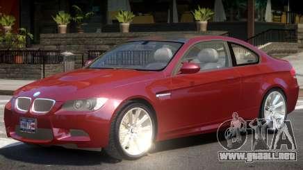 BMW M3 E92 Y07 para GTA 4