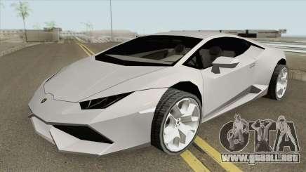 Lamborghini Huracan LP610-4 (SA Style) 2014 para GTA San Andreas