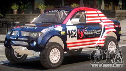 Mitsubishi L200 V1 PJ1 para GTA 4