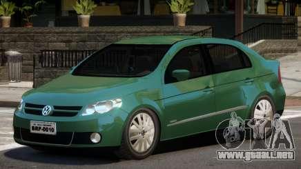 Volkswagen Voyage V1.0 para GTA 4