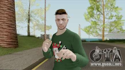 Male Skin (New Year) GTA V Online para GTA San Andreas