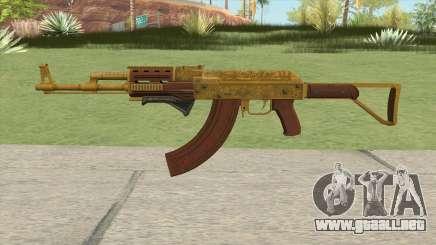 Assault Rifle GTA V Grip (Extended Clip) para GTA San Andreas
