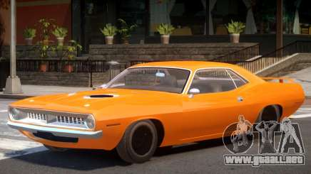 1970 Plymouth Barracuda para GTA 4